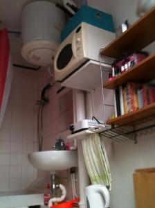 """The """"kitchen area"""""""